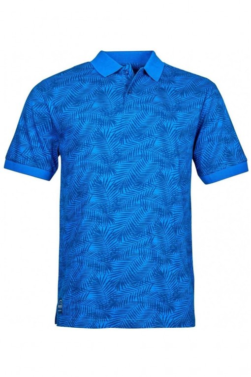 North 56˚4 Polo - Tropic Blue