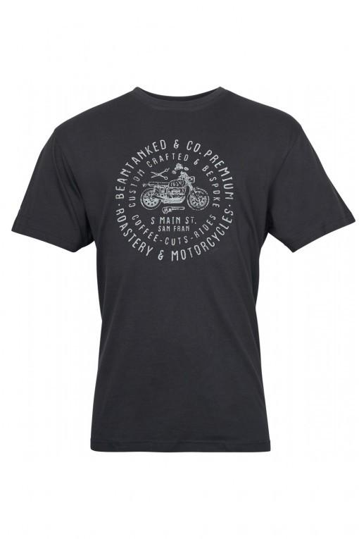 Replika Jeans T-Shirt - Barber Black