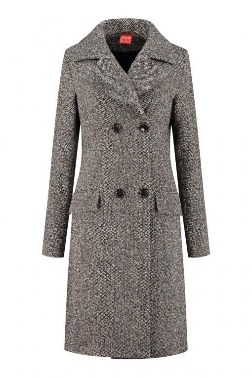 Only M - Winterjas Lana Tweed