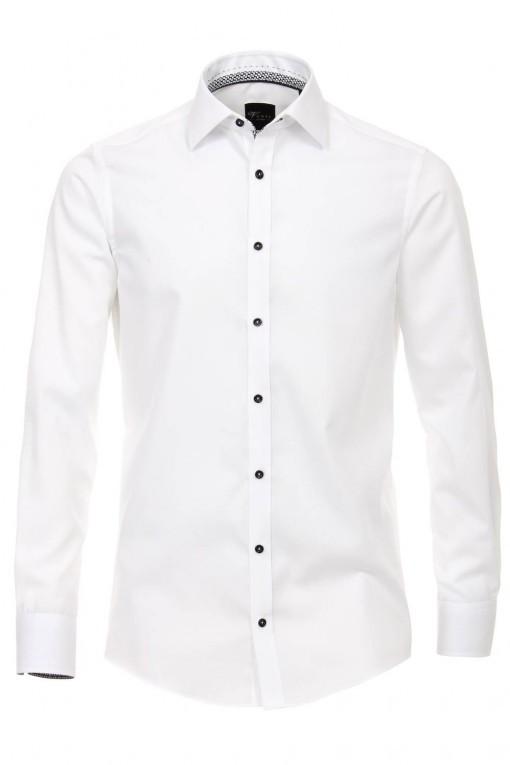 Venti Slim Overhemd - Wit