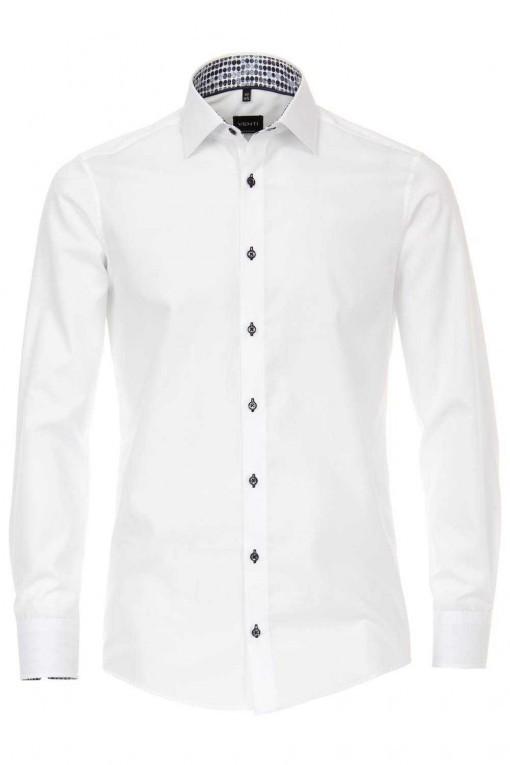Venti Modern Fit Overhemd - Wit