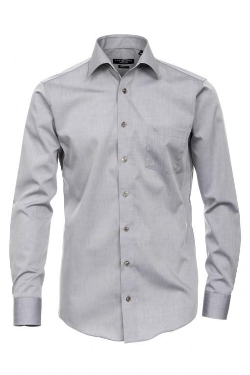 Casa Moda modern fit overhemd  - antraciet