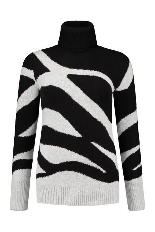 Only M - Pull Col Zebra