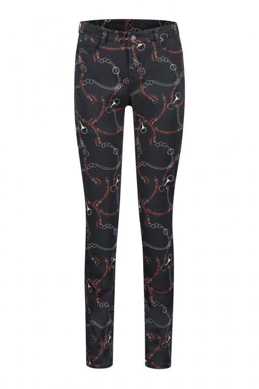 MAC Jeans Dream - Dark Blue Print