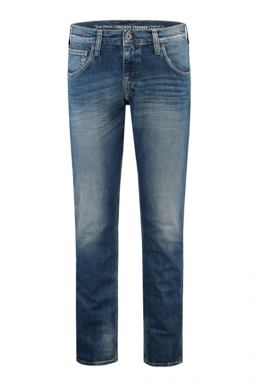Mustang Jeans Chicago Tapered - Mid Blue Used