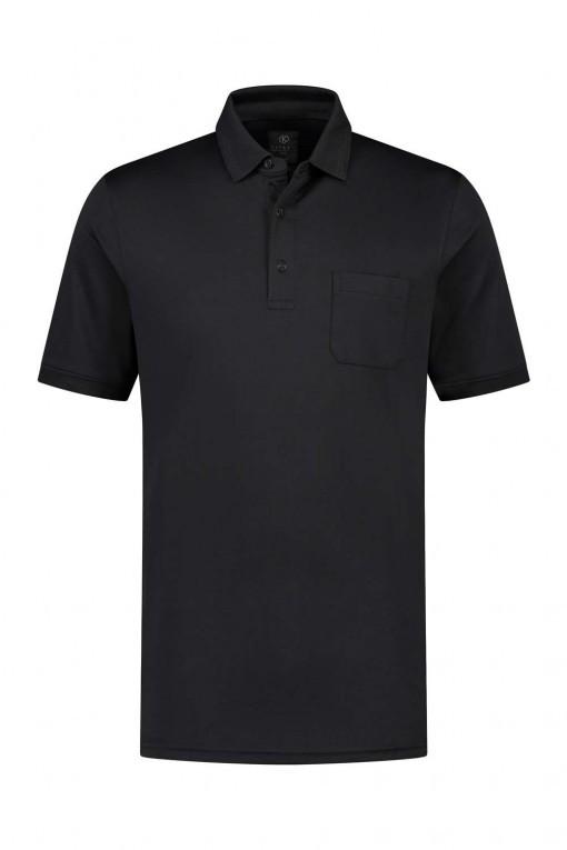 Kitaro Poloshirt - Basic Black
