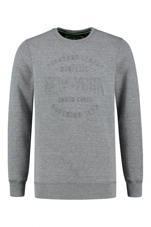 Kitaro Sweater - NY Sports relief grijs