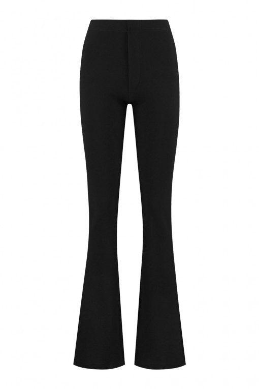 Madame Liz - Legging flared zwart