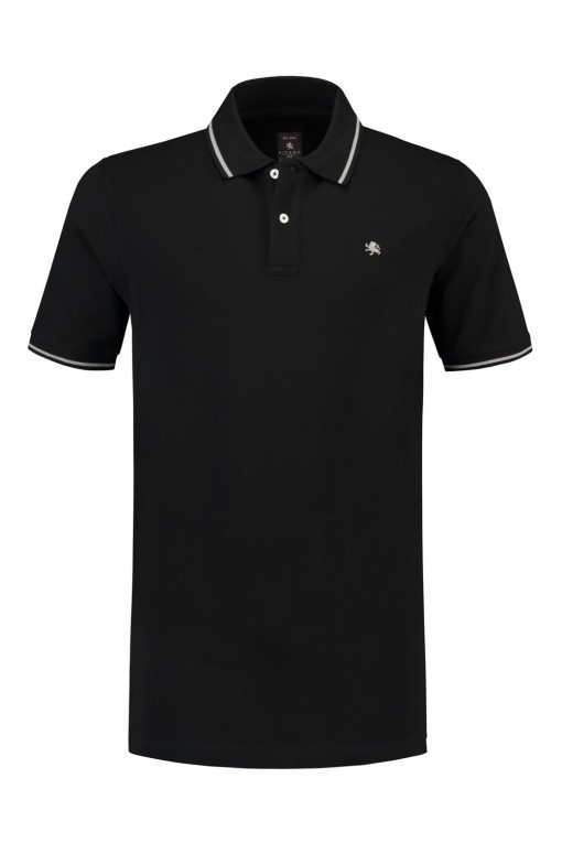 Kitaro Poloshirt - Zwart