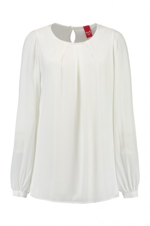 Only M - Blouse Crepon Off White