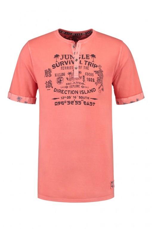 Kitaro T-shirt - Keeling Coral