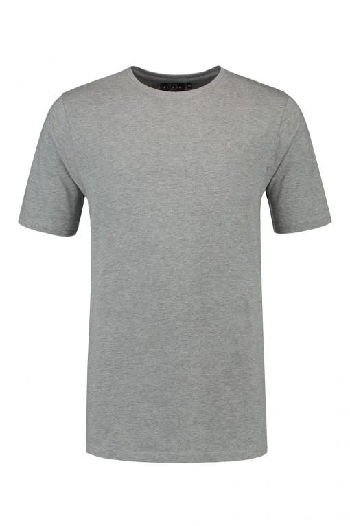 Kitaro T-shirt - Grijs, extra lang t-shirt