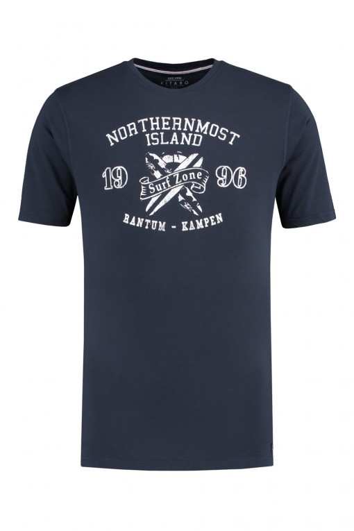 Kitaro T-Shirt - Surf Zone donkerblauw