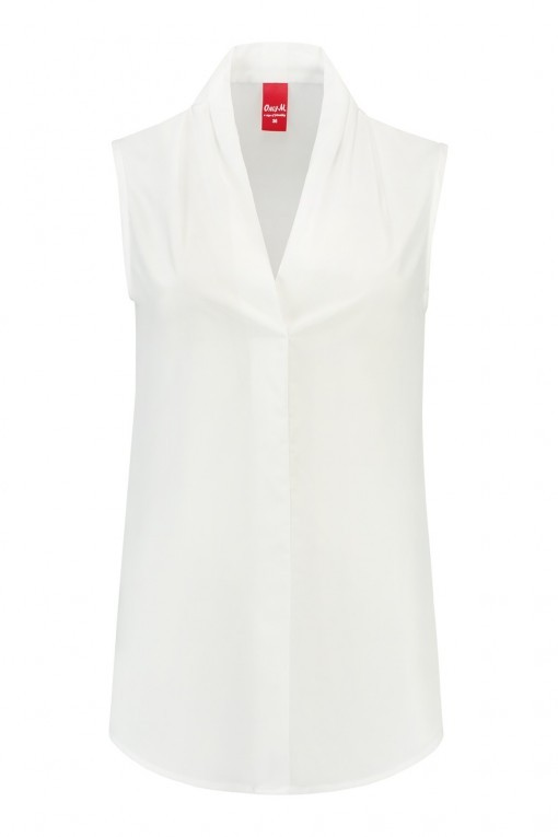 Only M - Blouse Touch Off White