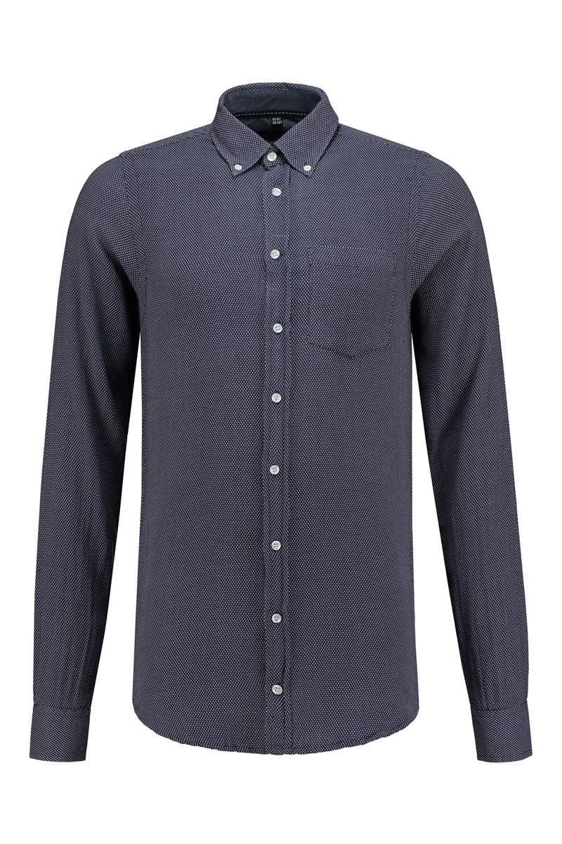 Overhemd Extra Mouwlengte.North 56 4 Overhemd Navy Ruit Mouwlengte 7 Highleytall