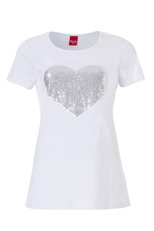 wit met zilver shirt