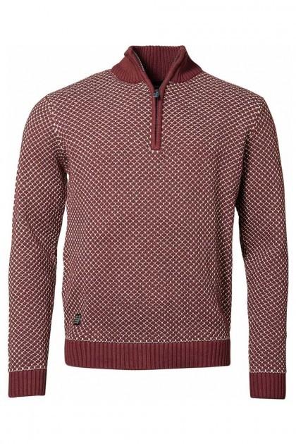 North 56˚4 - Gebreide trui rood