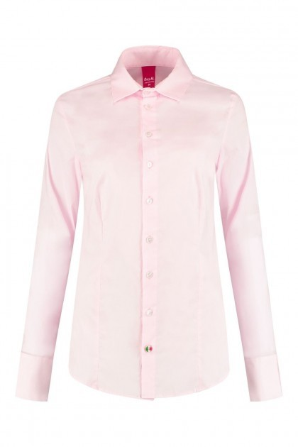 Only M - Blouse Basic Roze