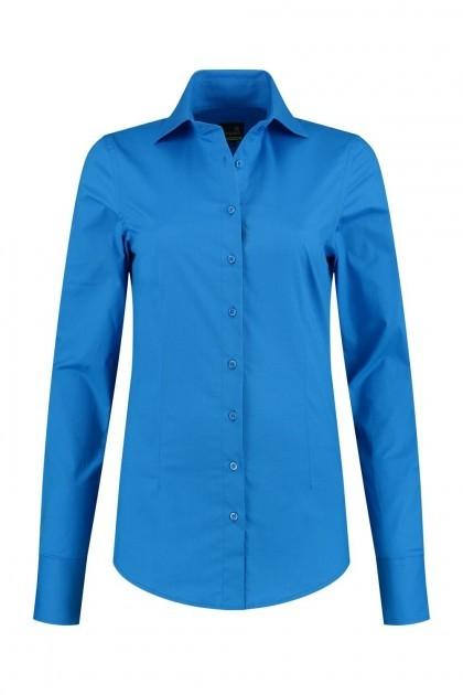 Sequoia - Basic blouse blauw