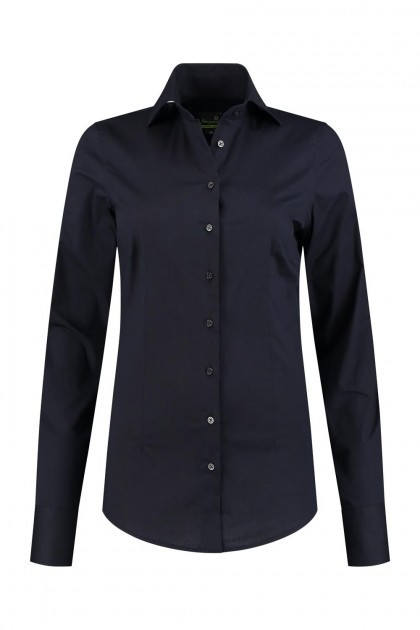 Sequoia - Basic blouse zwart