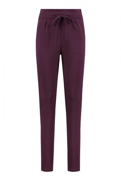 We Love Long Legs - Joggingbroek bordeaux