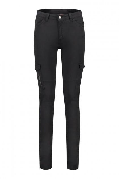 Only M - Cargo broek zwart