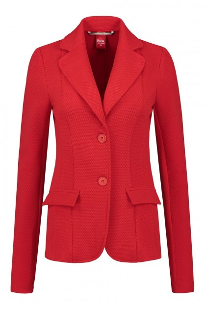 Only M Blazer - Tiffany rood
