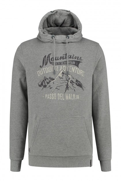 Kitaro Capuchontrui - Mountains grijs