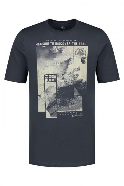 Kitaro T-Shirt - Raising Navy
