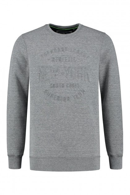 Kitaro Sweater - NY Sports relief grijs