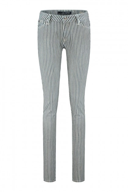 Mavi Jeans Nicole - Soft Stripe Spring Stretch