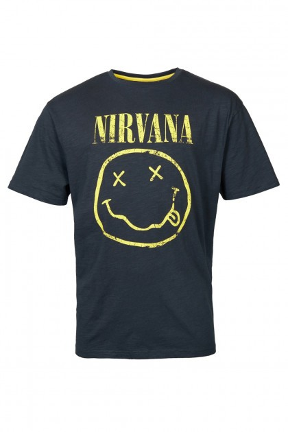 Replika Jeans T-Shirt - Nirvana