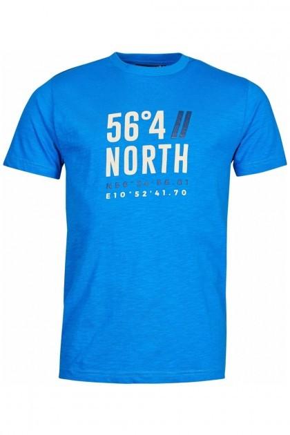 North 56⁰4 T-shirt - Coordinates Royal