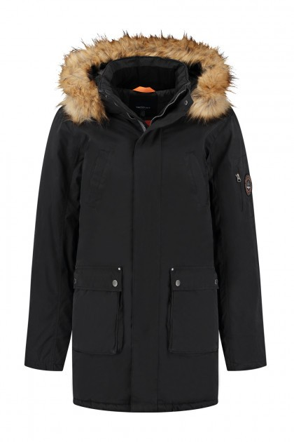 North 56˚4 - Winterjas Parka Zwart