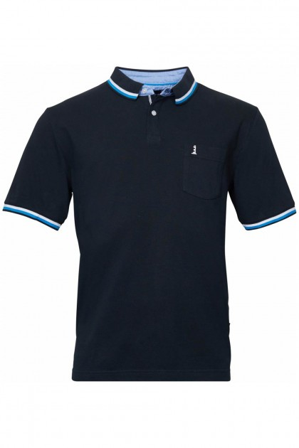 North 56˚4 Polo - Lighthouse Black