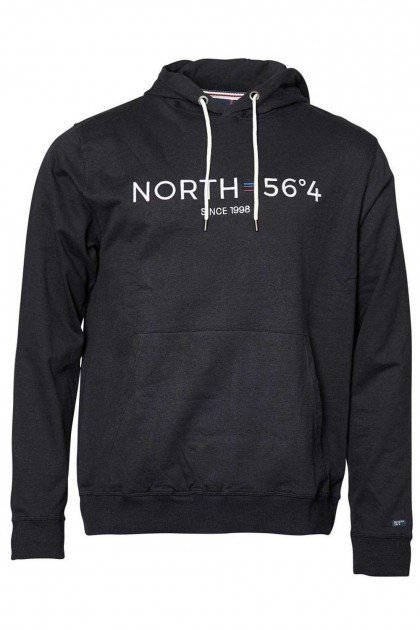 North 56˚4 - Capuchontrui zwart