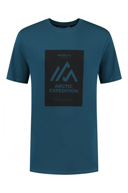 North 56˚4 T-Shirt - Artic Expedition Petrol
