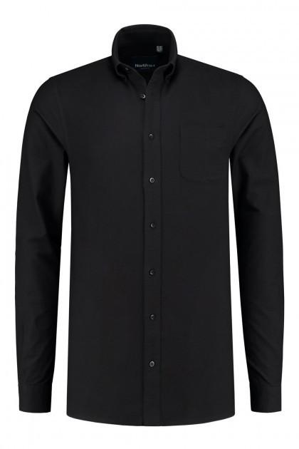 North 56˚4 Overhemd - Zwart