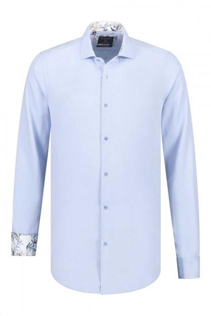 Corrino overhemd - Oxford Blauw