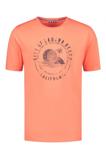 SOHO T-Shirt - City of Laguna Orange