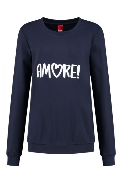 Only M - Sweater Amore navy
