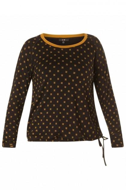 Yest Shirt - Antique Zwart