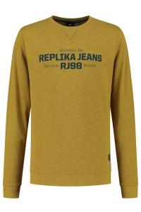 Replika Jeans Sweater - Replika RJ98 Mustard
