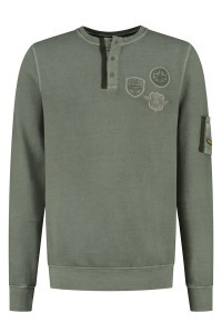 Kitaro Sweater - Flying Academy Olive