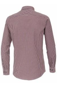Casa Moda Casual Fit overhemd - Rood/geruit