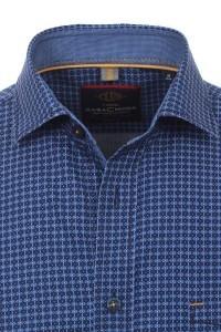 Casa Moda Overhemd - Blauw print