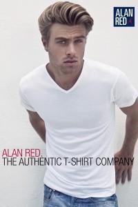 Alan Red T-Shirt - Vermont extra lang