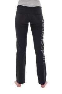 Panzeri Gym extra lange sportbroek - zwart