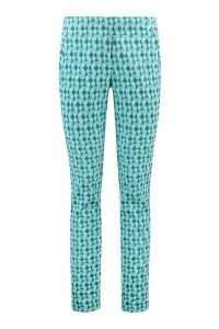 Corel broek Evie - Green Check - Lengtemaat 36