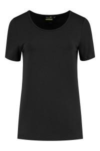Sequoia - Basic top korte mouw zwart